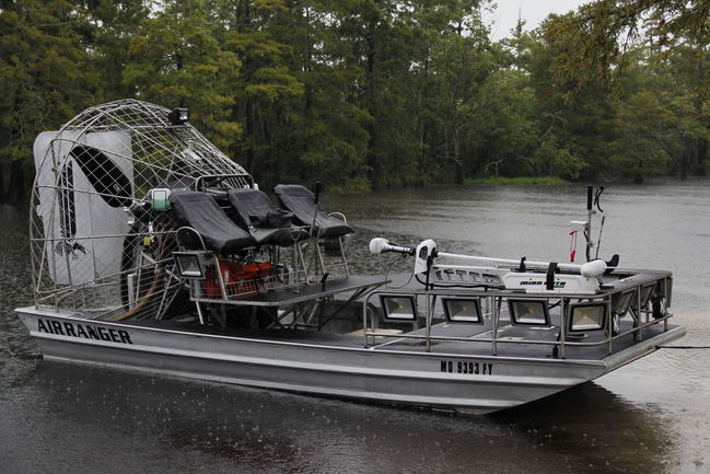 2012 18x8 Silver Ultimate Bowfishing Edition Southern Airboat Picture Gallery Archives