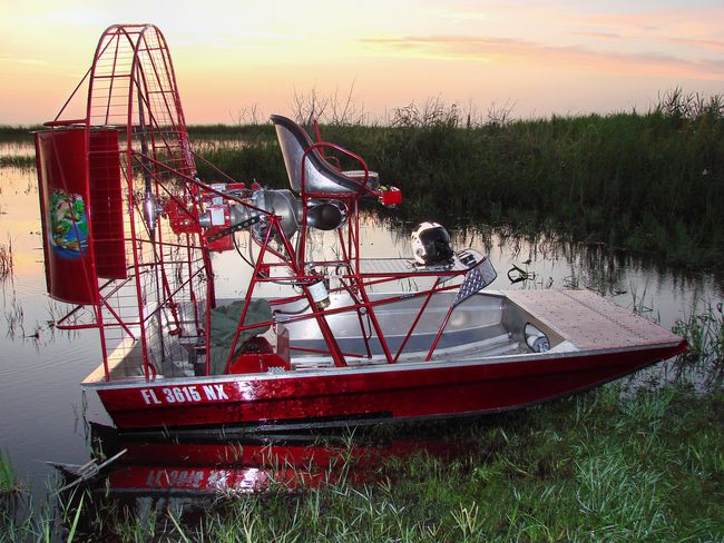 Barts mini Diamondback Airboat
