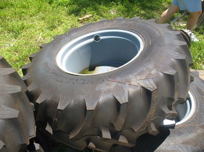 Tractor Rims 16 9 24 : Tractor tires on lug rims southern airboat