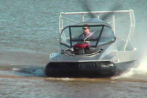 Aluminum Hovercraft