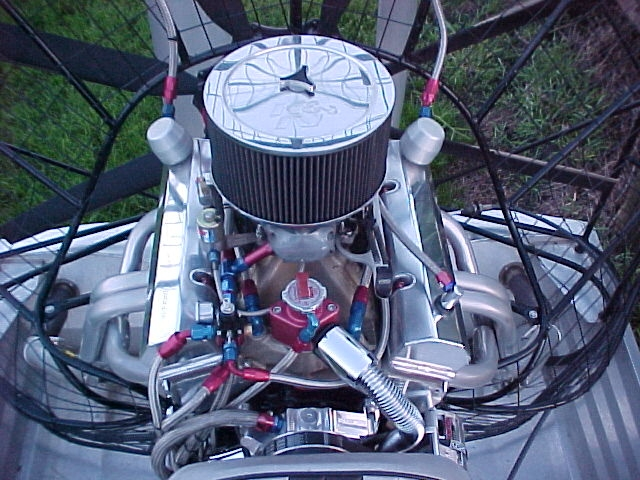 sbc 4 corner cooling - Southern Airboat