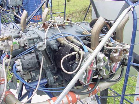4 cylinder lycoming/continental hybrid