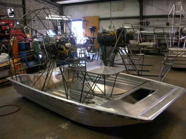 Hammant hulls page 2 southern airboat for How to build an airboat motor