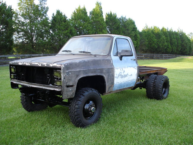 My 87 1 Ton Flatbed Project - Southern Airboat Picture Gallery
