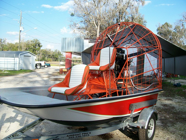 How much hp do i need for two person mini southern airboat for How to build an airboat motor