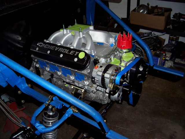LS1 with carb and distributor - Southern Airboat Picture ...
