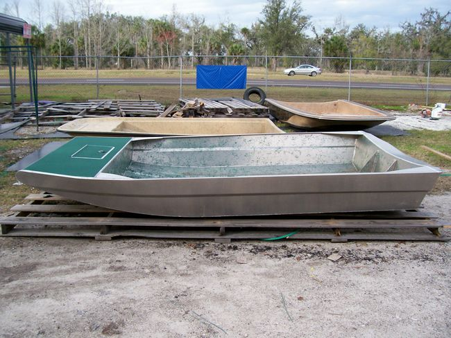New Aluminum Mini Hull - Southern Airboat