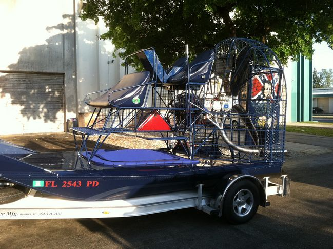 Palm Beach Hulls - Southern Airboat