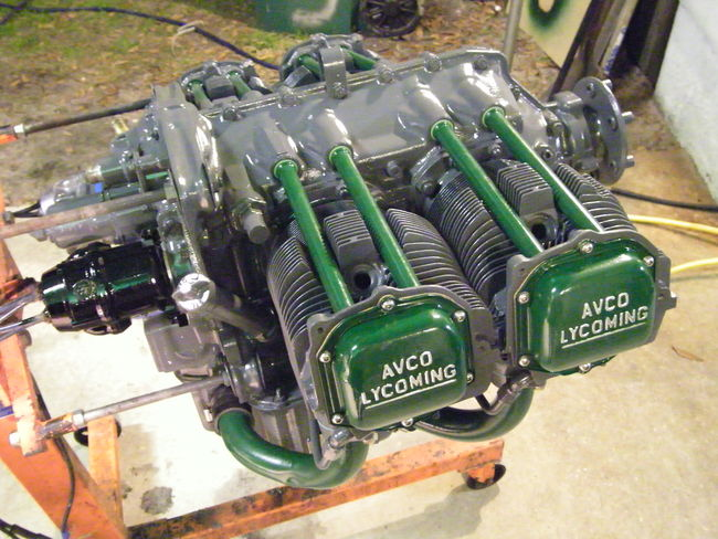 What Is The Green Paint They Paint Mini Engines With