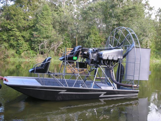 has any one used the Lake Buggy plans - Southern Airboat
