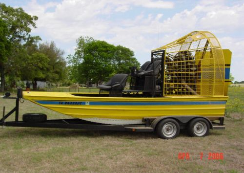 airboat powred with radial engine - Southern Airboat