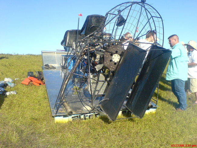 Need Airboat Crash or Accident Pictures - Southern Airboat