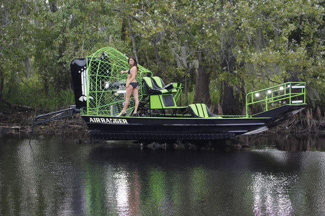 New flounder fishing boat southern airboat picture for Flounder boat air motor