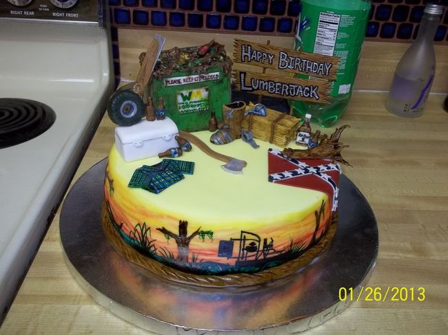 Redneck Cake Images : Redneck Cake - Southern Airboat Picture Gallery