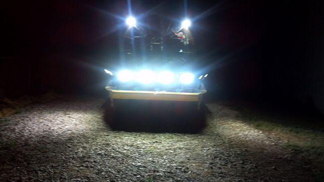 Bowfishing Lights At Night Southern Airboat Picture