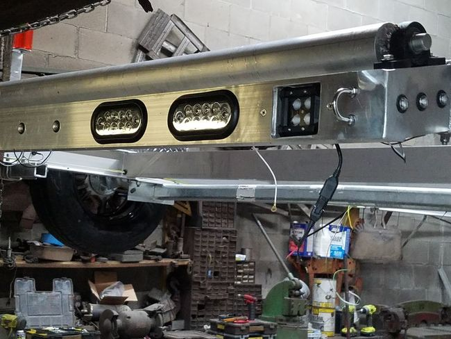 Custom lighting and reverse lights