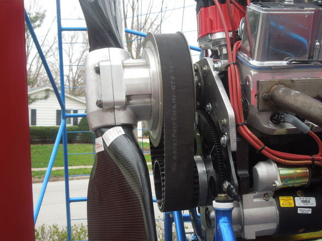 Nebraska built belt drive reduction southern airboat for How to build an airboat motor