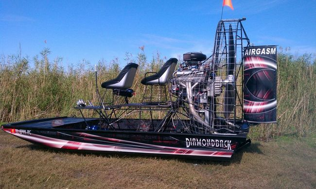 2012 DiamondbacK Ultralight - Southern Airboat Picture