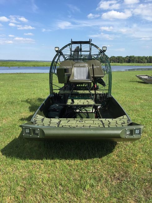 New Hull & Grass Rake Design by GTO Airboats - Southern ...
