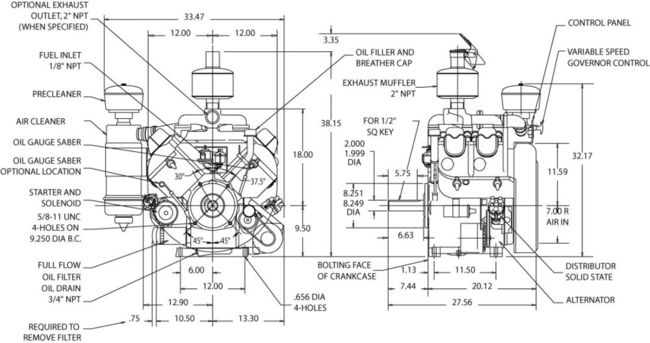 wisconsin vh4d engine diagram  wisconsin  free engine