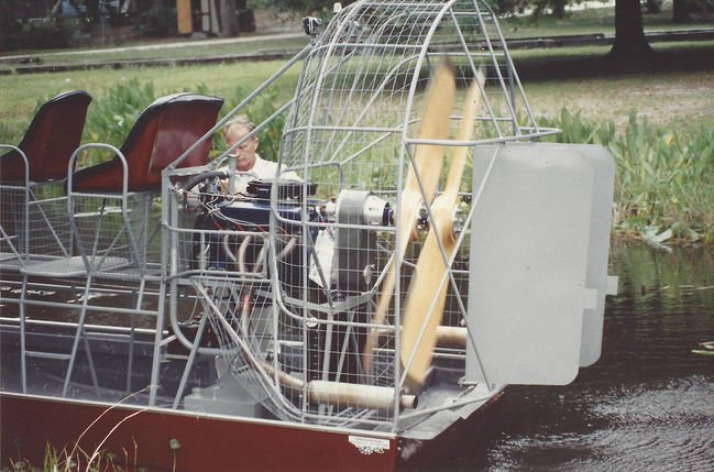 Airboat Gear Reduction Units: Southern Airboat Picture