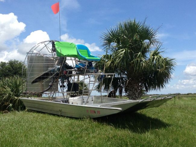 Square Pond Southern Airboat Picture Gallery