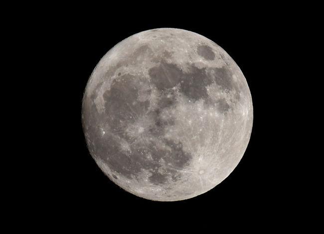 Sunday Nights Moon