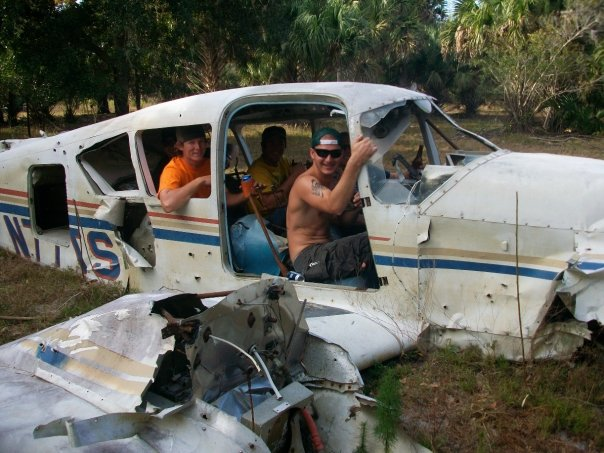 Lake Harney plane wreck