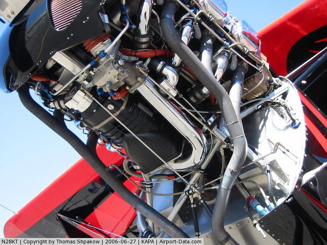 Automotive supercharged Lycoming