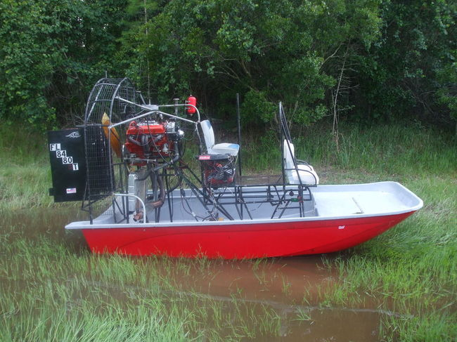 Airboat power question southern airboat for How to build an airboat motor