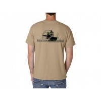 "Southern Airboat Pocket ""T"" (Khaki)"