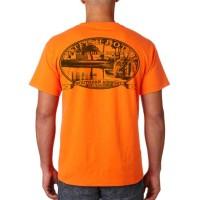 "Catfish Hotel Pocket ""T"" (Hunter Orange)"