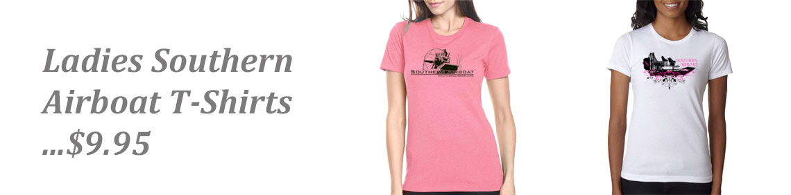 "Southern Airboat Ladies ""T"""