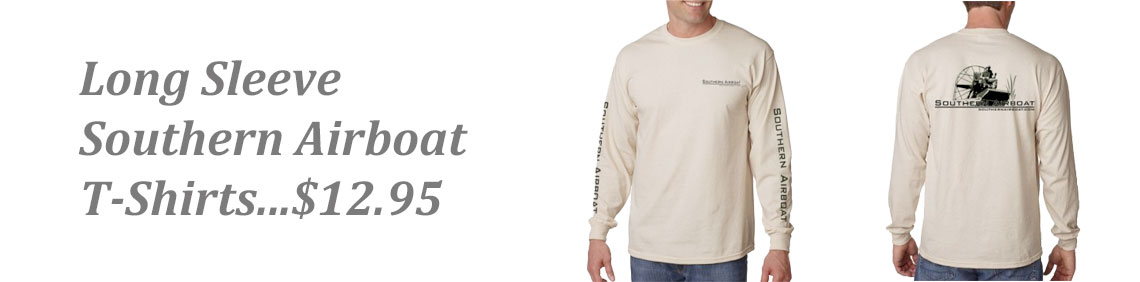 "Southern Airboat Long Sleeve ""T"""