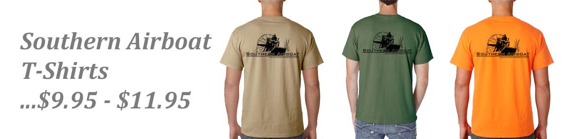 Southern Airboat T-Shirts