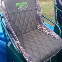Airboat Seat Lady