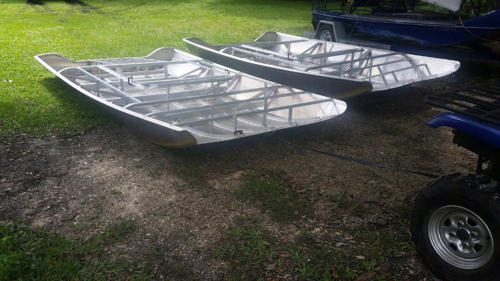 Palm Beach Style Airboats Fl Hulls Cages Rigging
