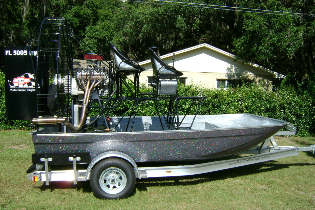 LS 3 airboat - lakeland - fl - Airboats Priced $20,000 and