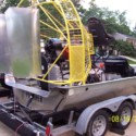 1986 Panther air boat