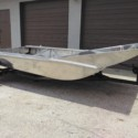 New Wardaddy Airboat Hull 7' X 13' with 9' transom