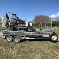 2001 Air Ranger Airboat REDUCED