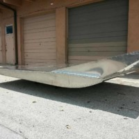 "New 7'x11' Wardaddy Hull with 9"" Transom"
