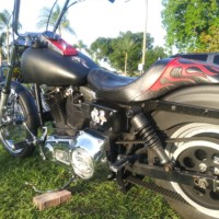 95 Harley-Davidson Dyna Wide Glide trade for airboat