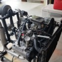 Used hovercraft/airboat engine. Subaru with reduction.