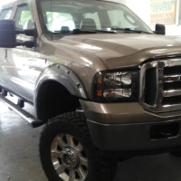 2005 SUPER TRUCK F350 4X4 LIFTED BULLET PROOFED