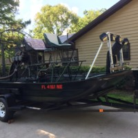 Clean airboat