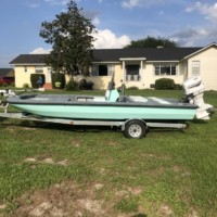 20' FLATS BOAT / for airboat