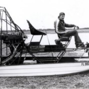 First Airboat (mid 80\'s)