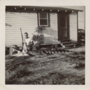 1957...Dad & Older Brother With a Gator