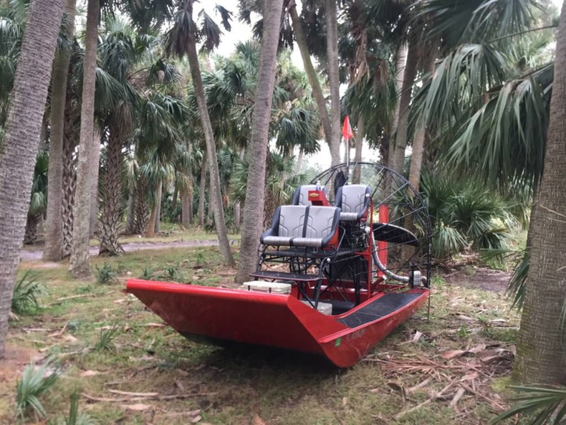 Hull build pics the oldschool way - Southern Airboat